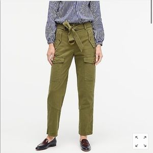 J. Crew NWT Belted Military Pant